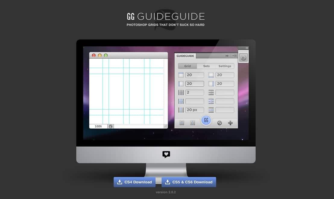 Guide Guide – utilitaire très sympa pour les WebDesigners