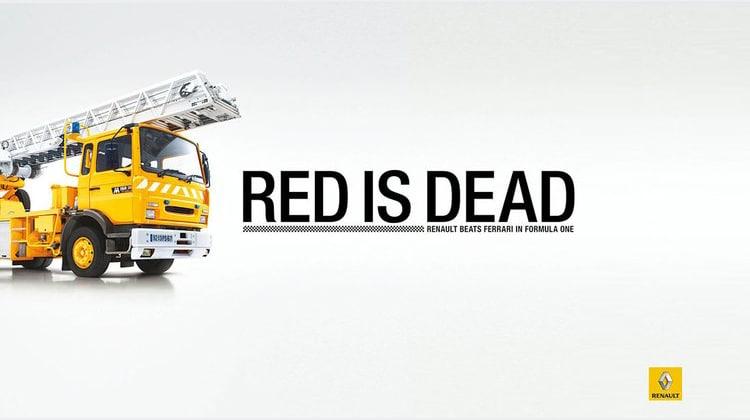 Campagne de pub : Renault tacle Ferrari !