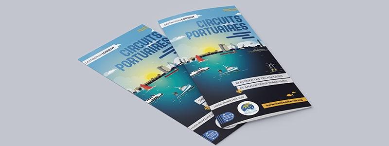 création brochures