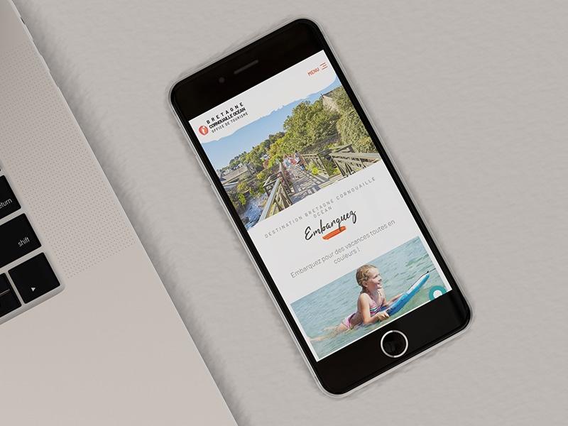 création site internet responsive office de tourisme