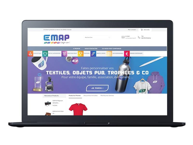 site e-commerce impression marquage morbihan