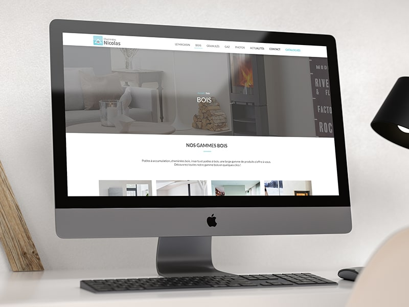 création site internet responsive