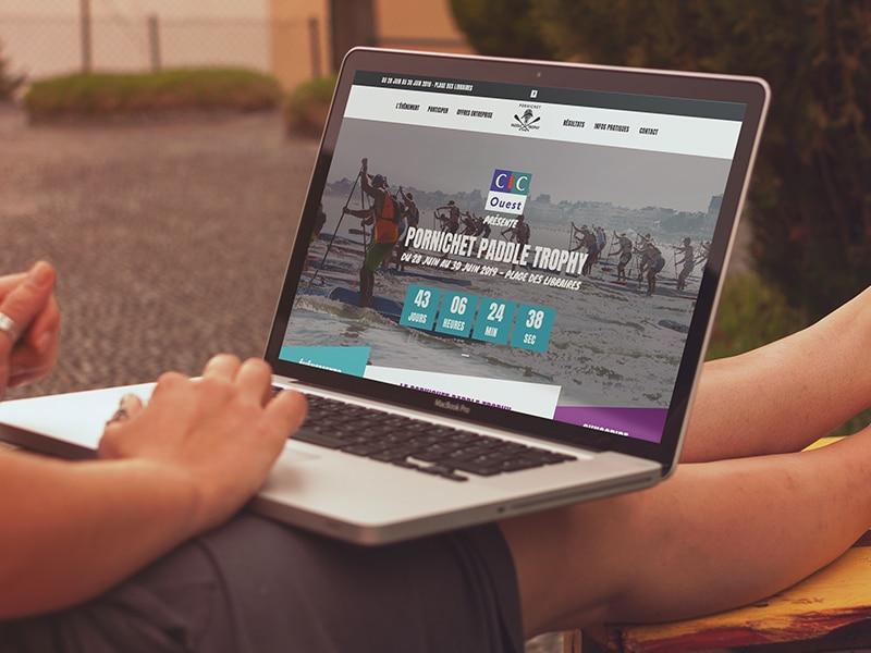 création site internet vitrine événementiel