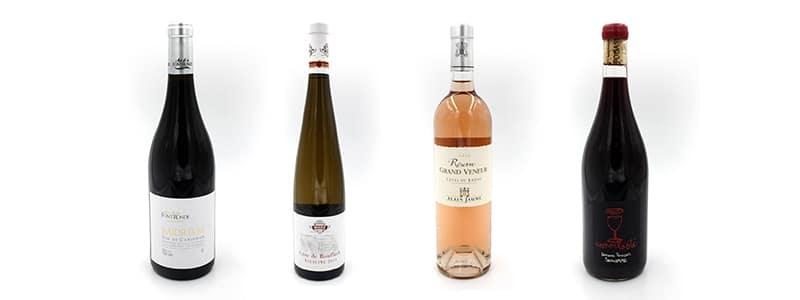 création etiquette bouteille de vin