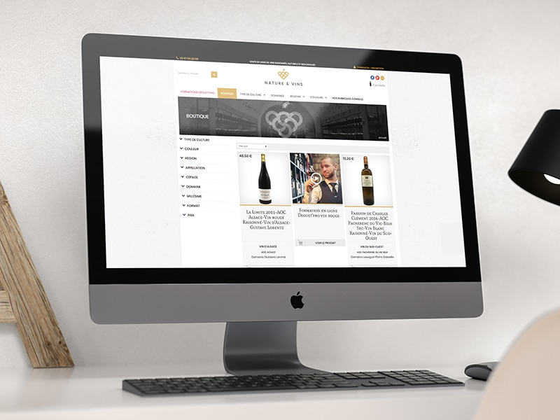 creation site internet e-commerce responsive