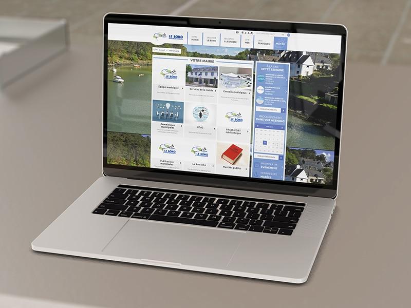 création site internet mairie