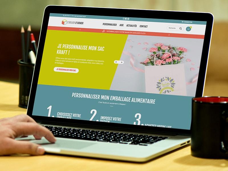 création site internet e-commerce responsive