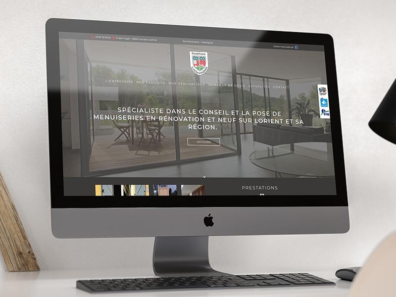 création site internet vitrine