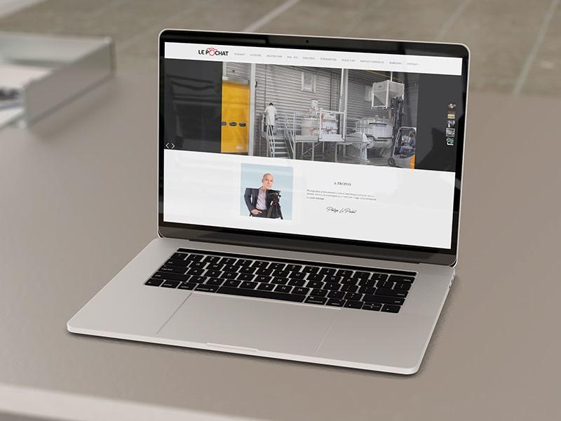 création site internet vitrine photographe