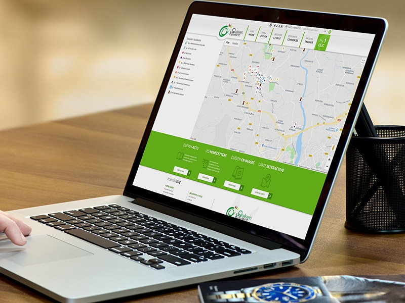 création site internet mairie responsive