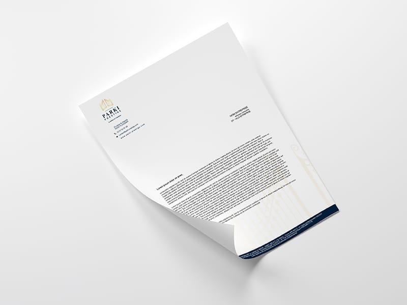 impression logo feuille A4 vente location achat de biens de luxe morbihan