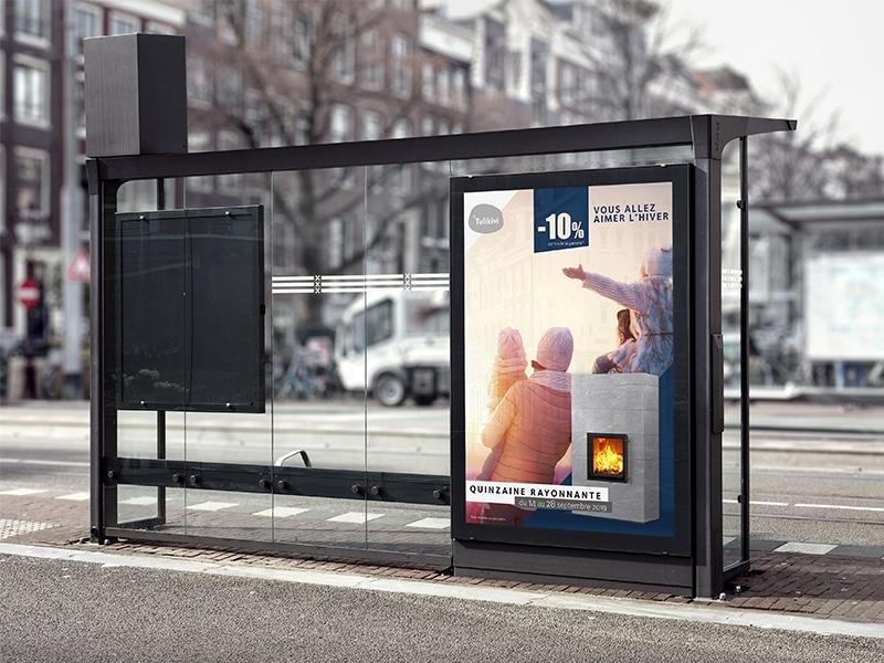 Campagne publicitaire Tulikivi