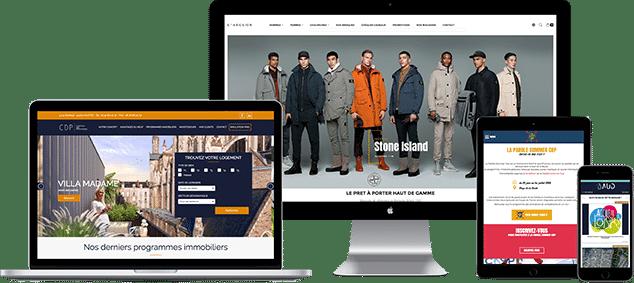 Un site internet personnalisé en responsive webdesign