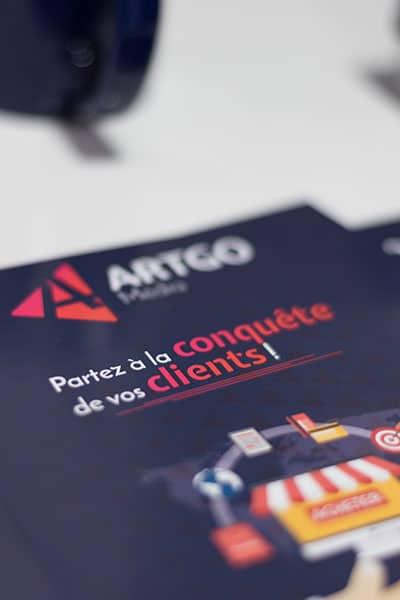 Flyer ARTGO Média
