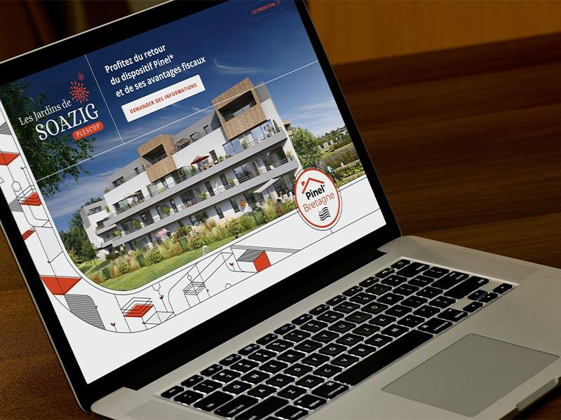 Création site internet promoteur immobilier