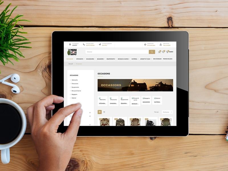 Création site internet ecommerce