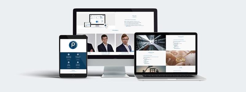 Création site internet vitrine one-page